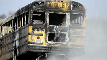 Houston - GOOD NEWS: School Bus Driver Rescues 34 Kids From Fiery Crash