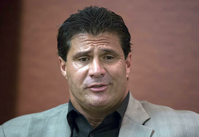 Jose Canseco plead guilty to domestic violence charges in 1988 and again in 1997.
