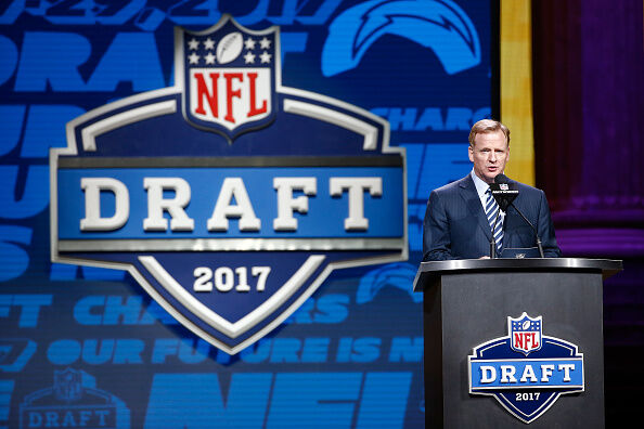 NFL Draft by Jeff Zelevansky - Getty Images.