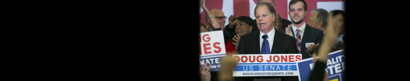 Doug Jones Wins Tight Alabama Senate Race