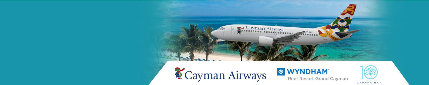 Win A Trip For 2 To The Cayman Islands Courtesy Of Cayman Airways!