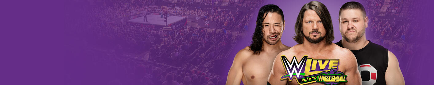 See WWE Live: Road to Wrestlemania in Sacramento