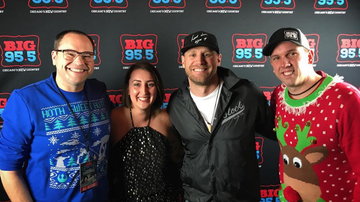 Big Country Christmas 2016 - Chase Rice Backstage at Big Country Christmas