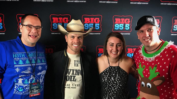 Big Country Christmas 2016 - Dustin Lynch​ Backstage at Big Country Christmas!