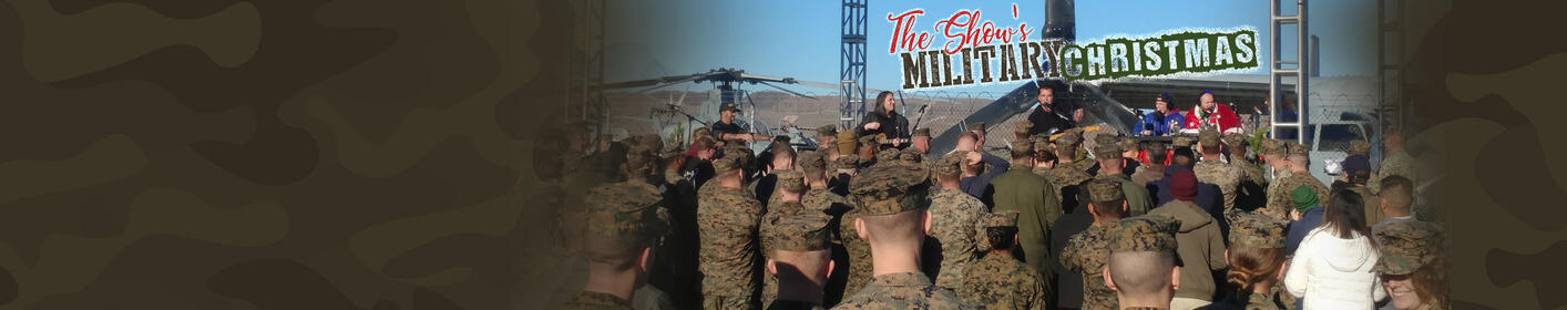 Photos & Video From Military Christmas at Camp Pendleton Featuring Gavin Rossdale, Nikki Bella & More!