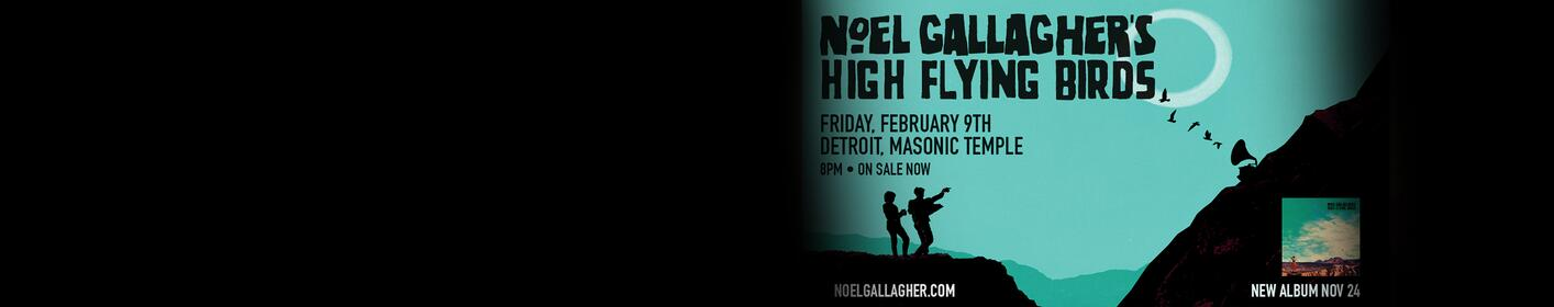 Win Noel Gallagher's High Flying Birds tickets. Learn how to win!