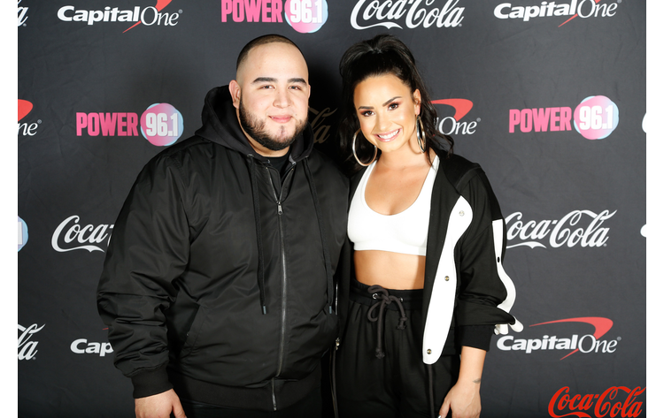 Demi lovato meet greet power 961 demi lovato meet greet photo by paul rodriguez m4hsunfo