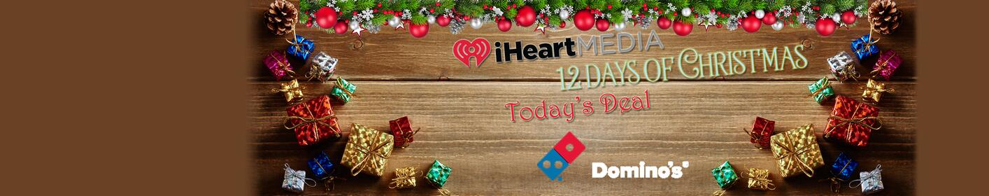 $5 Domino's pizzas for today's '12 Days' deal!!