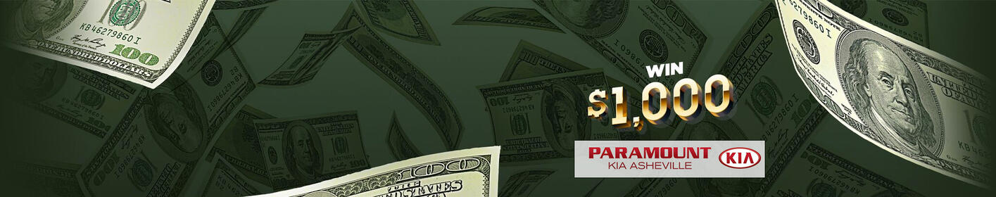 Tune in weekdays for 16 chances to win $1,000!