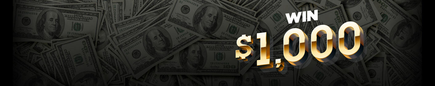 Listen every hour from 6am-9pm for your chance to win $1,000! Details here!