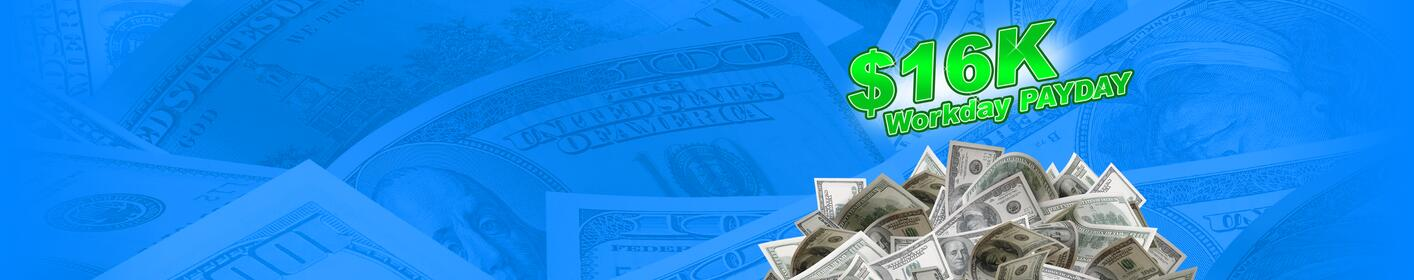 Ready to win your share of the 16K Workday Payday on My 99.5? Listen to win!