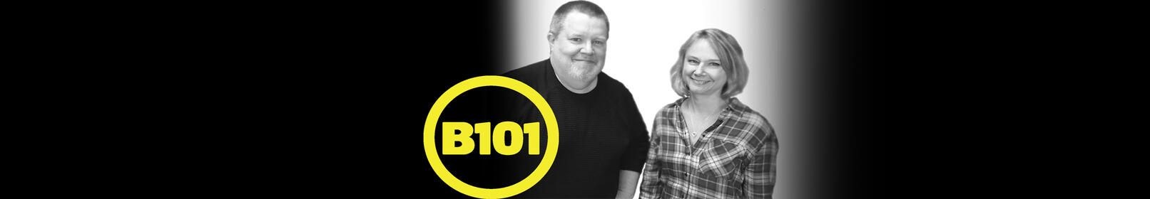 Kristin Lessard & Steve Kelly! Mornings on B101!