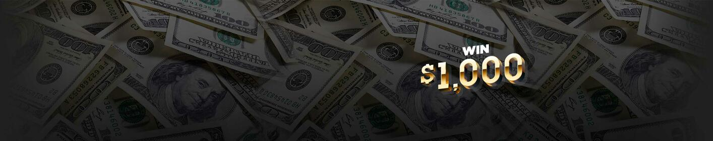 The Thousand Dollar Bribe! Listen weekdays from 4am to 8pm to win EVERY HOUR!