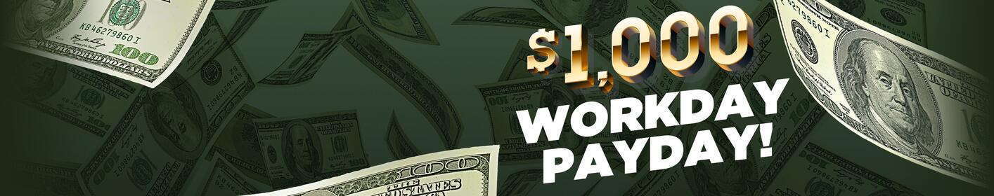 Win $1000 Every Hour On KEZ! Listen For The Keyword!