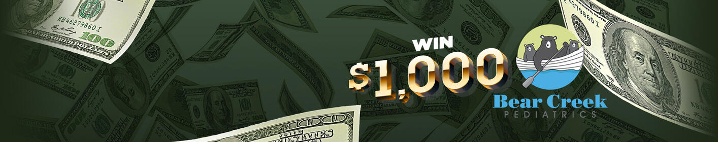 Listen to Win $1,000 Every Hour On The Hour!