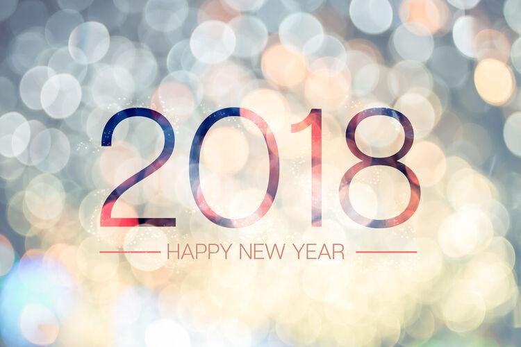 2018 Happy New Year Getty RF