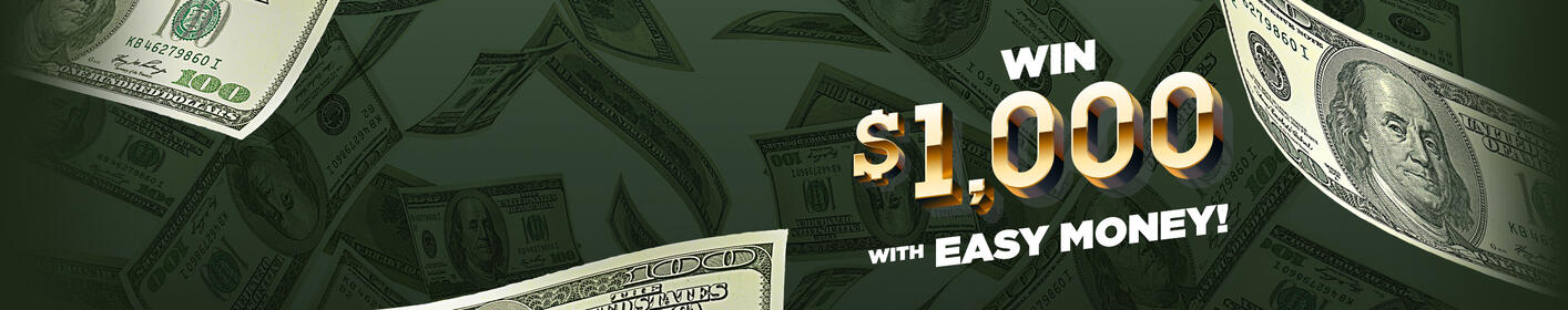 EASY MONEY: Listen to Win $1,000 Every Hour!