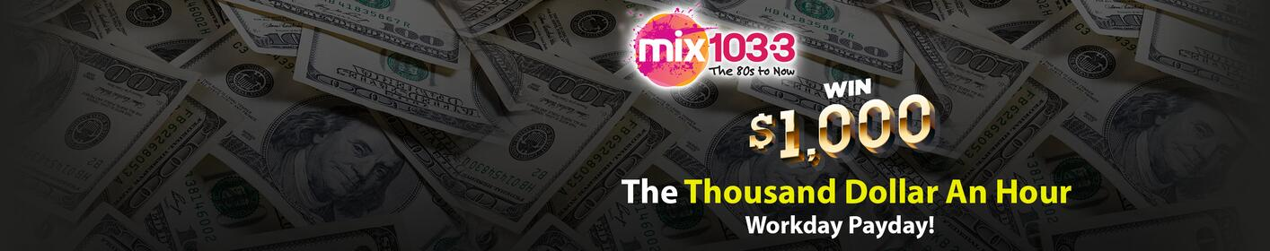 Each day you could win $1000!