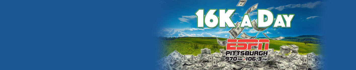 Listen to win $1,000 with '16K a Day'!
