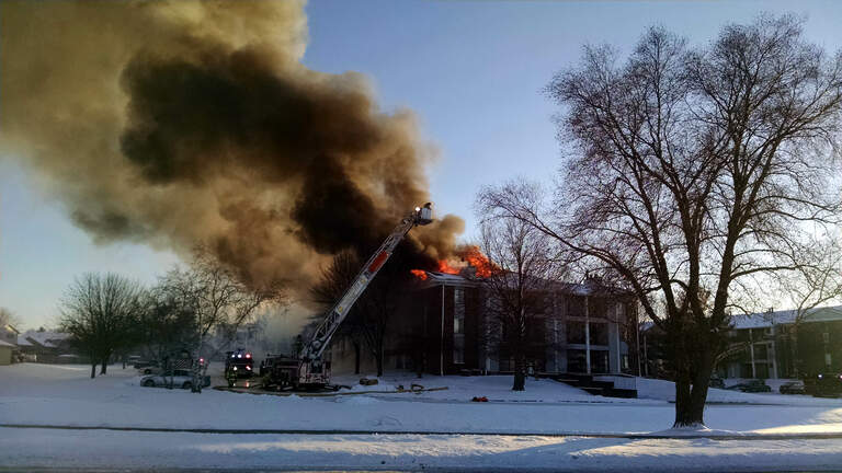Plumwood Terrace Condo fire - Sue Danielson