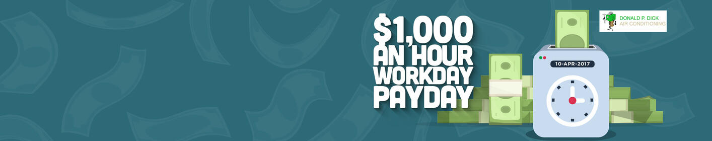 Win $1000 To Spend Any Way You Want!
