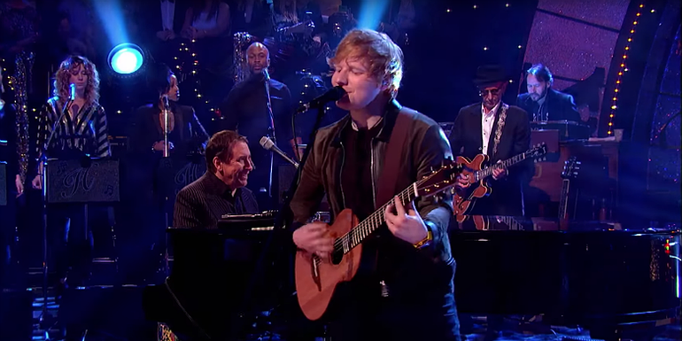 Watch Ed Sheeran Nail His Cover Of Eric Clapton's 'Layla'
