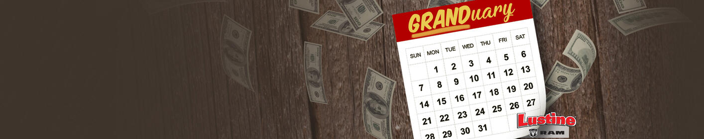 Win $1,000 Every Hour This GRANDuary!