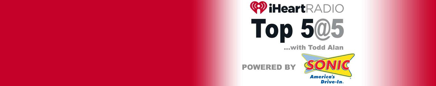 Online Voting For The iHeartRadio Top 5 @ 5 Is BACK!!