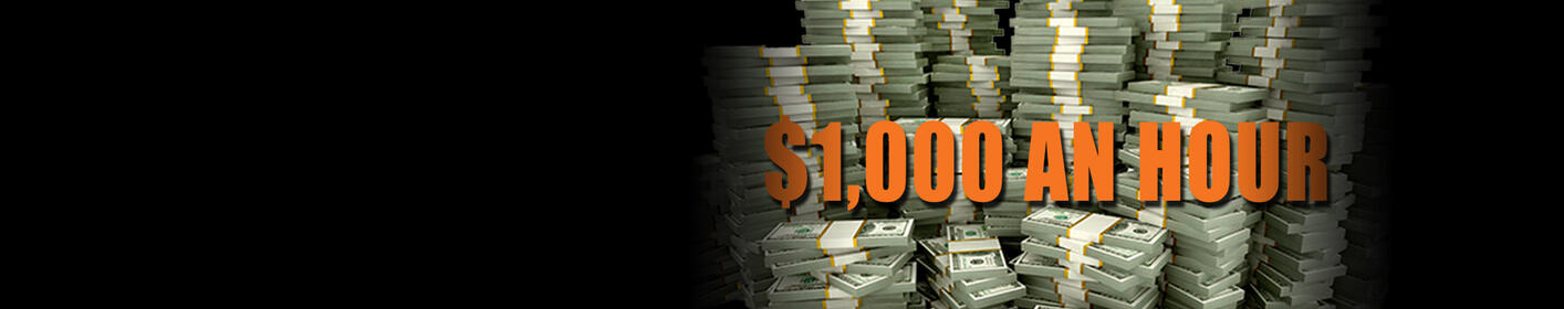 WIN $1000 Every Hour! Pay Your Bills!