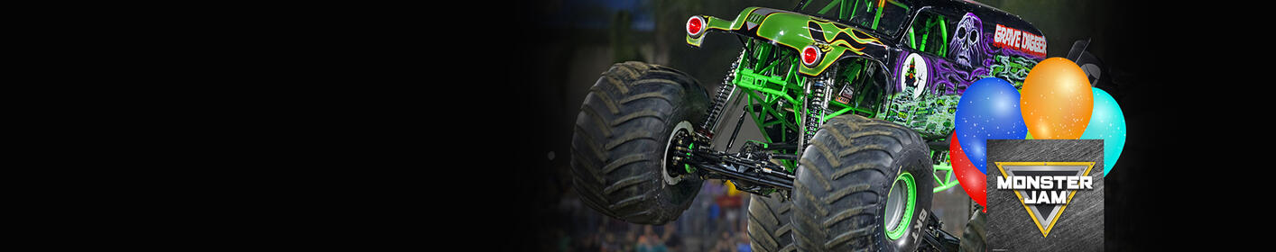 Win A Monster Jam Birthday Party!