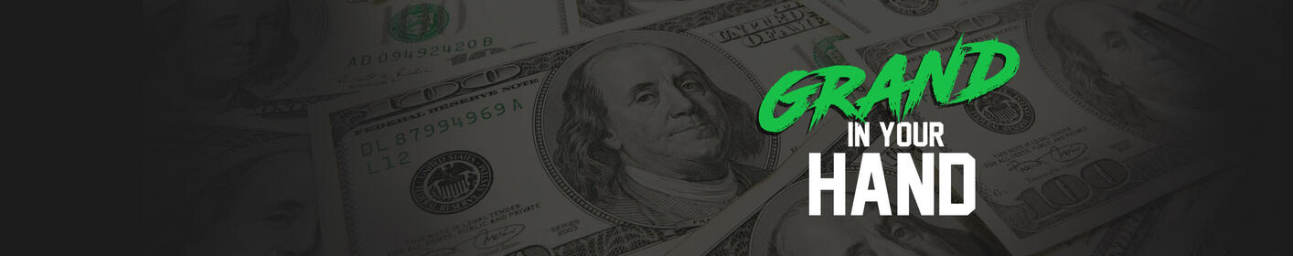 Win A Thousand Dollars Every Hour!