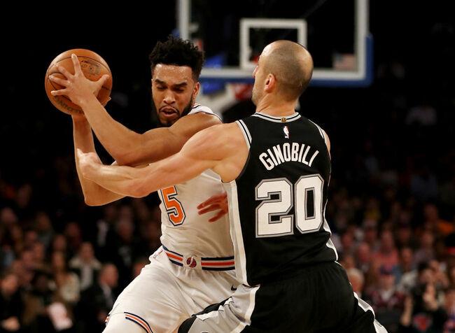 Spurs Vs Knicks Detail: Spurs Top The Knicks 100-91