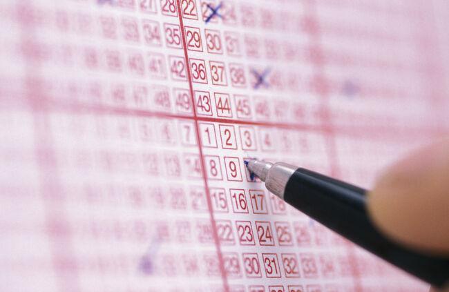 Lottery Ticket Getty RF