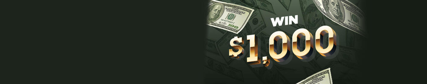 Listen to win $1,000 every hour with 96.1 KISS FM!