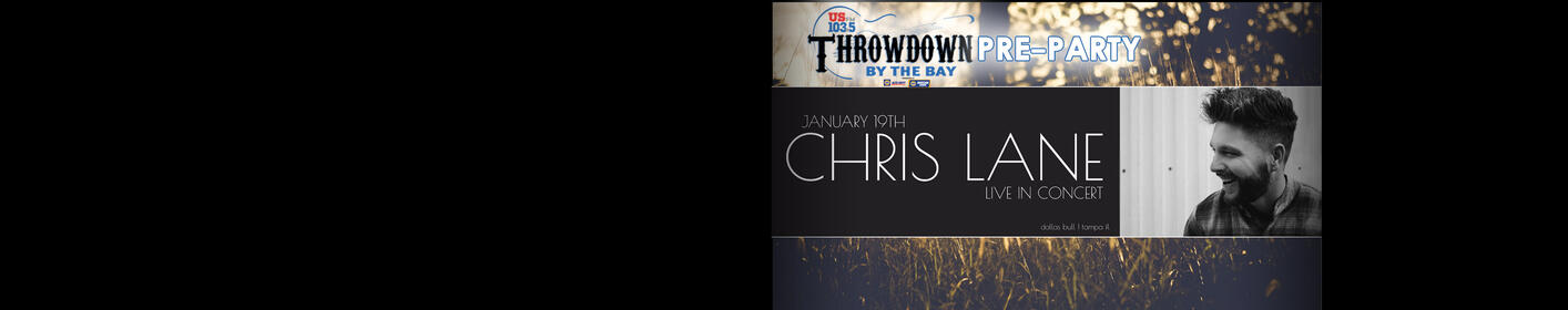 Throwdown By The Bay Pre-Party with Chris Lane