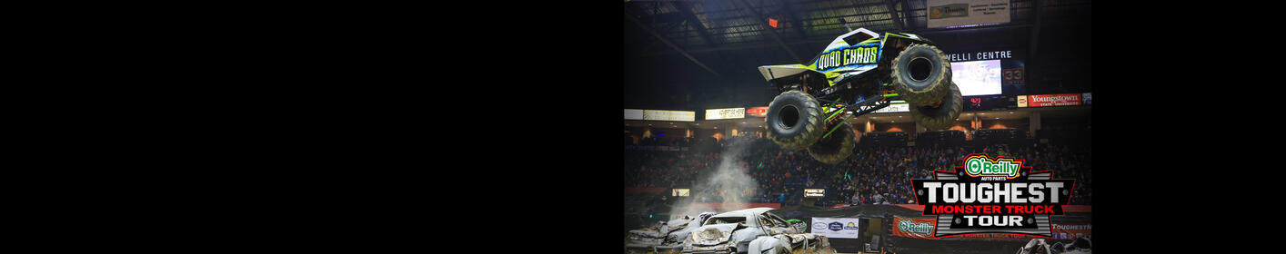 The Toughest Monster Truck Tour is returning to the Santa Ana Star Center!