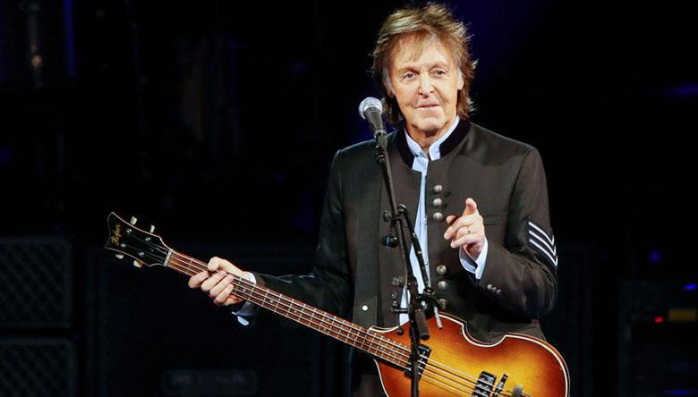Paul McCartney Says He's Finishing Up His New Album