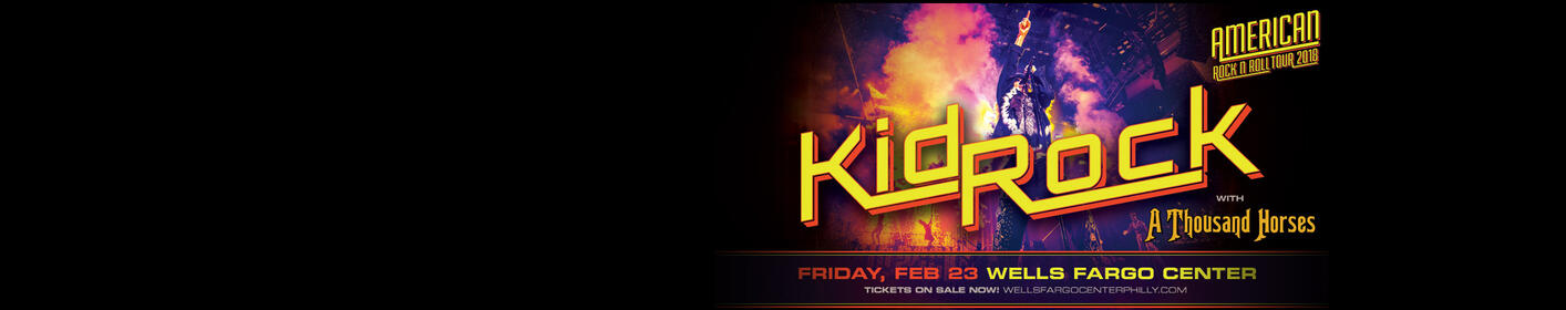 Register for a chance to win Kid Rock tickets for 2/23 in Philly!