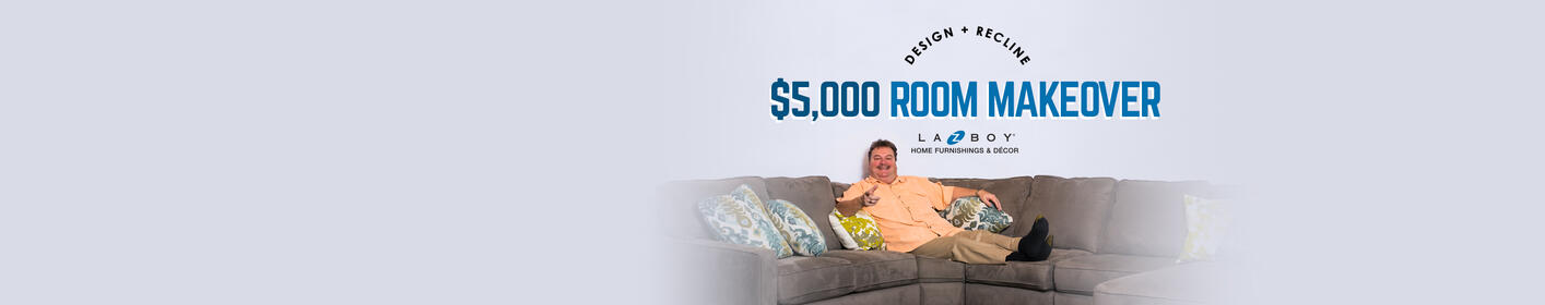 Enter To Win A $5,000 La-Z-Boy Room Makeover!
