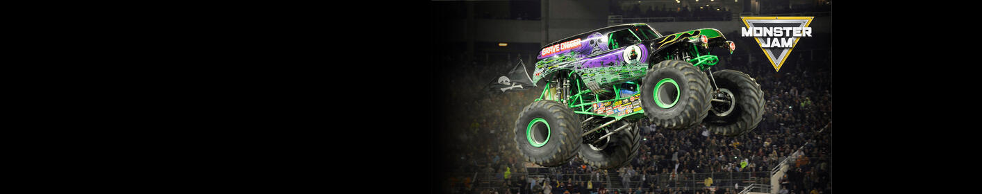 Register for a chance to win a family 4 pack for the MONSTER JAM!