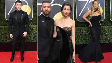 EDMS Entertainment Report - Red Carpet At The 2018 Golden Globe Awards