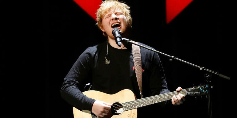 Ed Sheeran-Penned Song For Tim McGraw & Faith Hill Has Him In Hot Water
