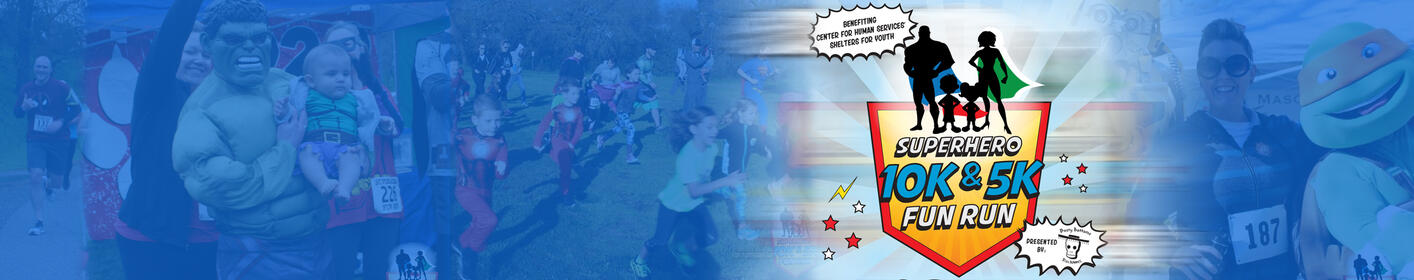 Join Us For the Super Hero Fun Run!
