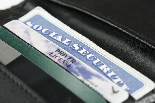 Social Security Driver's License Getty RF