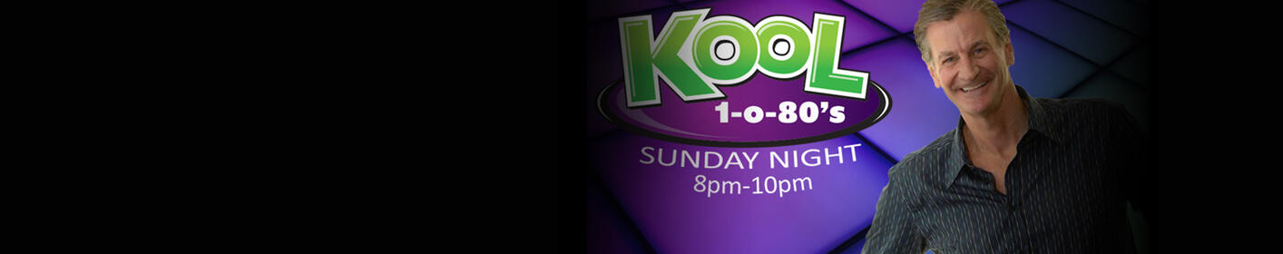 KOOL 1-o-80s Sunday Night with Greg Thunder happens every Sunday from 8pm-10pm!