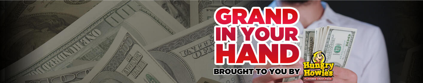 Listen for your chance at $1,000 16x a day on 620WDAE!