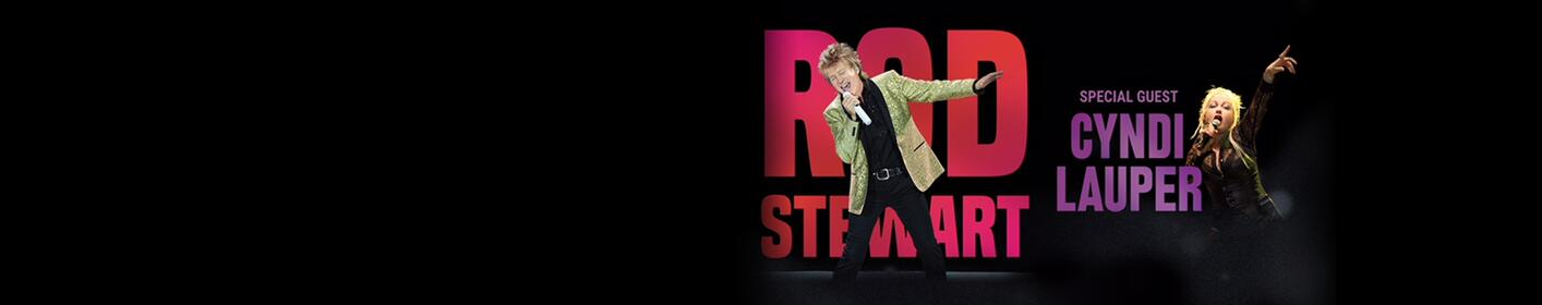 Win Tickets To See Rod Stewart With Cyndi Lauper!
