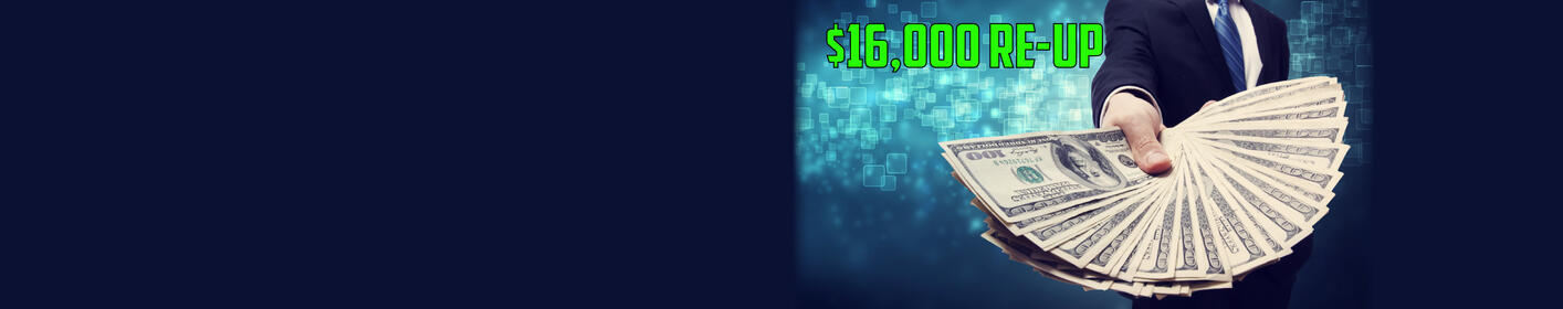 $16,000 Re-Up - Listen To Win!
