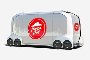Self-Driving Pizza Hut Trucks?!