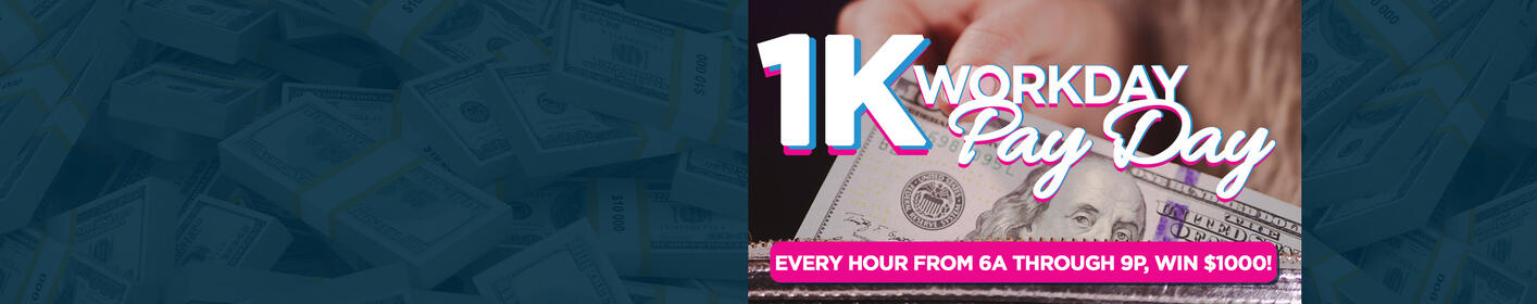 Win you $1,000 Workday Pay Day!